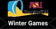 sau shaping edu winter games logo