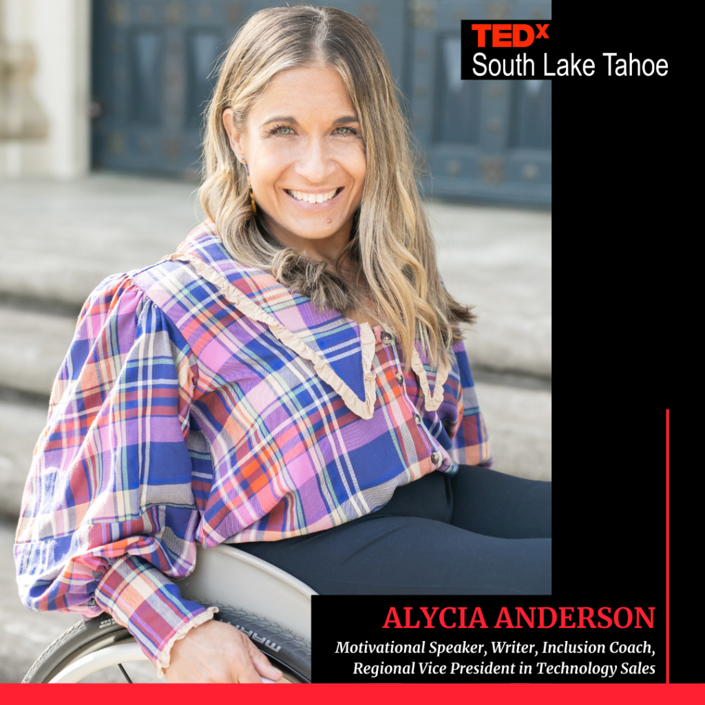Motivational Speaker Alycia Anderson TEDx South Lake Tahoe Image